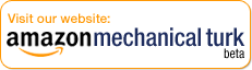 Visit the Amazon Mechanical Turk website